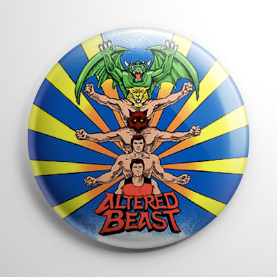 Altered Beast Button