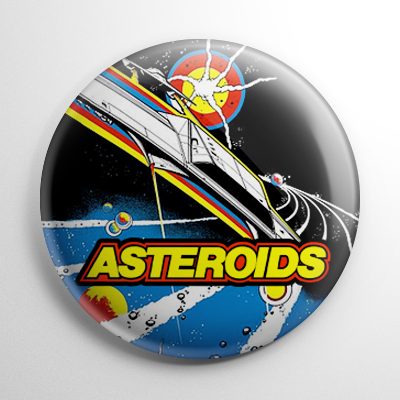 Asteroids Button