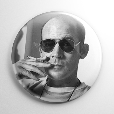 Hunter S. Thompson Button