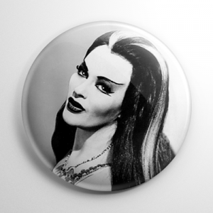 Lily Munster (C) Button