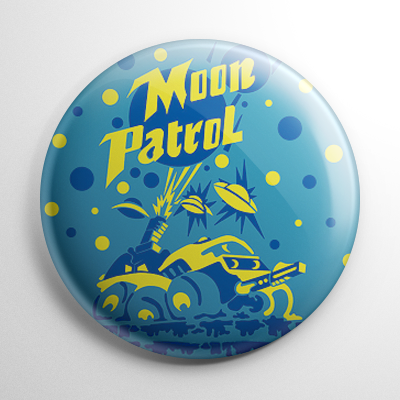 Moon Patrol Button