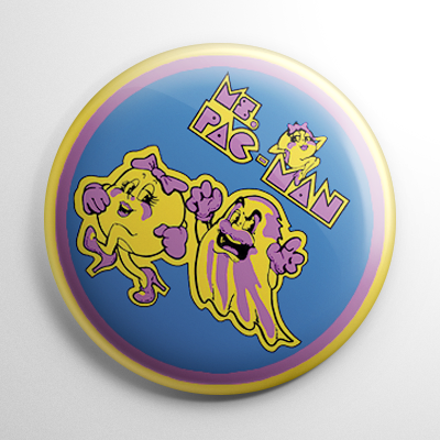 Ms. Pac-Man Button