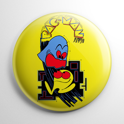 Pac-Man Button