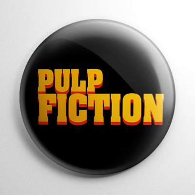 Pulp Fiction Button