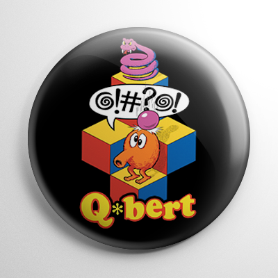 Q-Bert Button