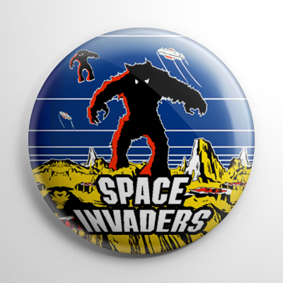 Space Invaders Button