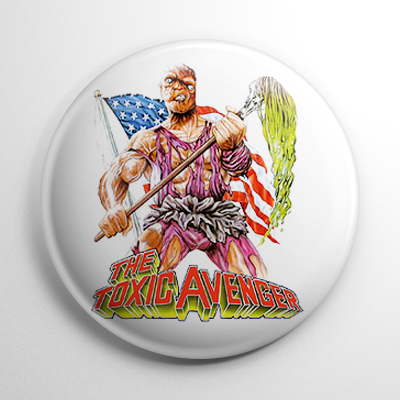 Toxic Avenger (B) Button