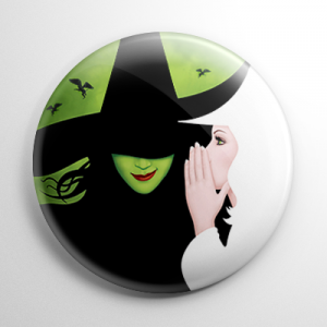 Wizard of Oz - Wicked (A) Button