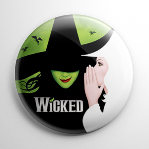 Wizard of Oz - Wicked (B) Button