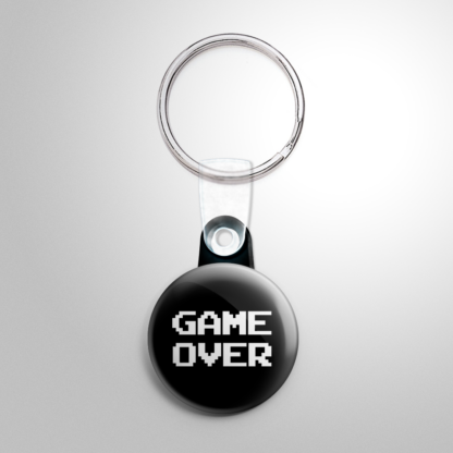 Video Games - Game Over Keychain