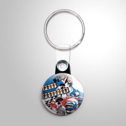 Video Games - Pole Position Keychain