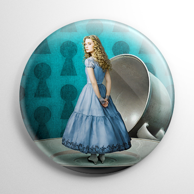 Alice in Wonderland - Alice Button