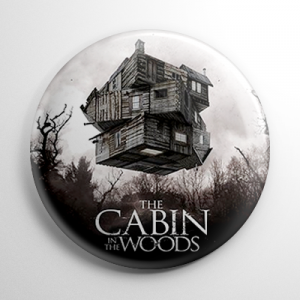 Cabin in the Woods Button