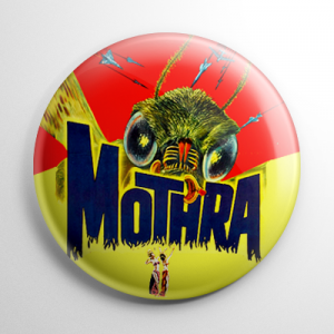 Mothra Button