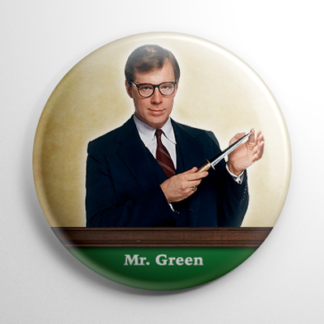 Clue Mr. Green Button