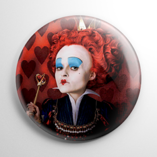 Alice in Wonderland - Red Queen Button