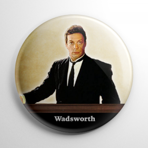 Clue Wadsworth Button