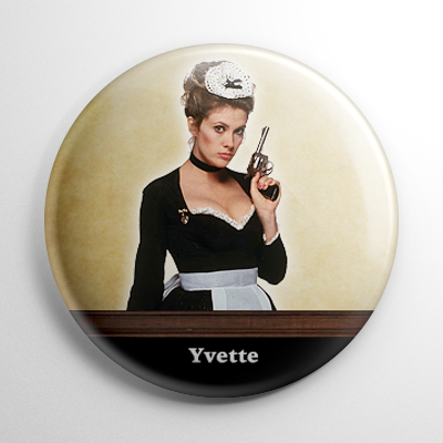 Clue Yvette Button