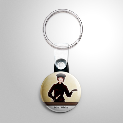 Comedy - Clue: Mrs. White Keychain