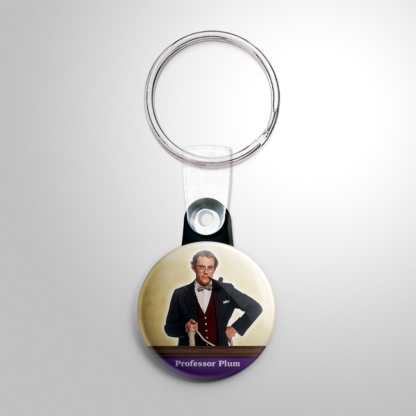 Comedy - Clue Professor Plum Keychain