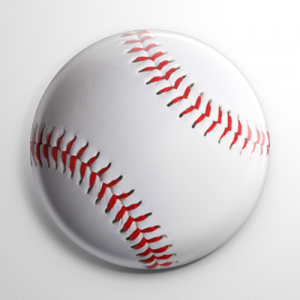 Baseball Button