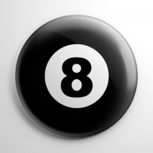 Eight Ball Button