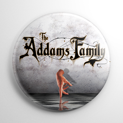 The Addams Family Thing Button
