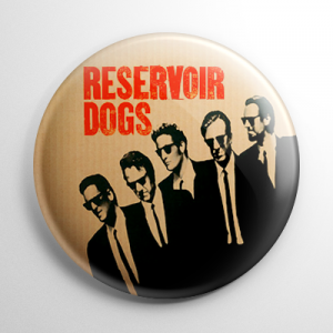 Reservoir Dogs Button