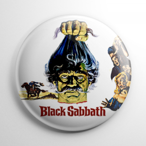 Black Sabbath Button