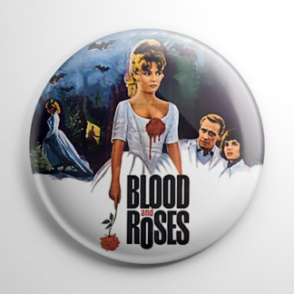 Blood and Roses Button