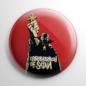 Brotherhood of Satan Button