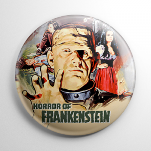 Horror of Frankenstein Button