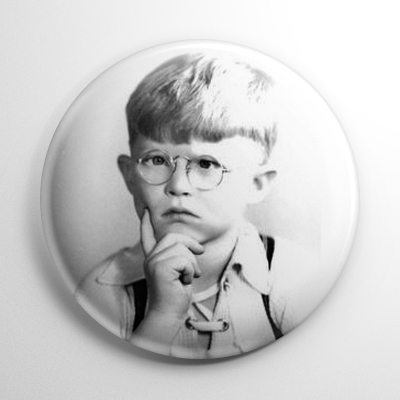 Little Rascals - Froggy Button