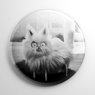 Frankenweenie – Mr. Whiskers (B) Button
