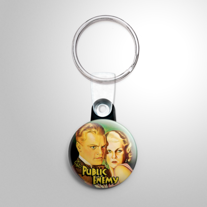 Gangster - Public Enemy Keychain