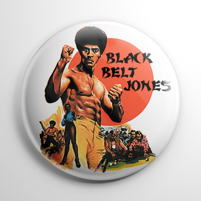 Black Belt Jones Button