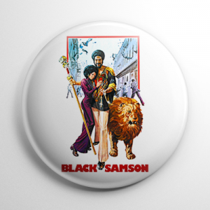 Black Samson Button