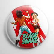 Black Snake Button