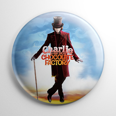 Charlie and the Chocolate Factory Button
