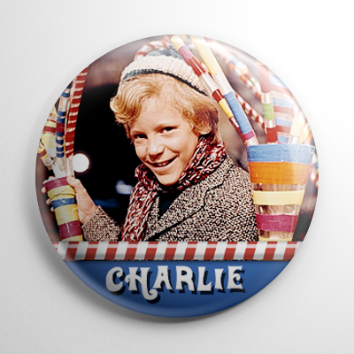 Willy Wonka - Charlie Bucket Button