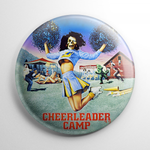 Cheerleader Camp Button