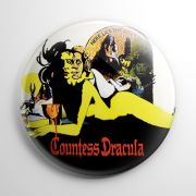 Countess Dracula Button