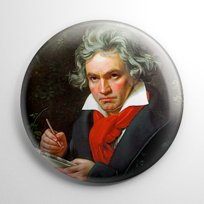 Ludwig Van Beethoven Button