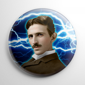 Nikola Tesla Button