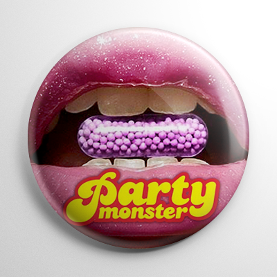 Party Monster (A) Button