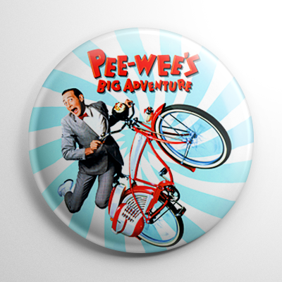 Pee-Wee's Big Adventure Button