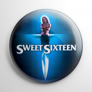Sweet Sixteen Button