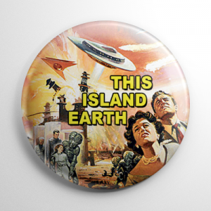 This Island Earth Button