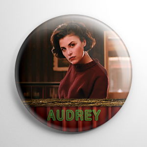 Twin Peaks Audrey Horne Button