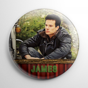 Twin Peaks James Hurley Button